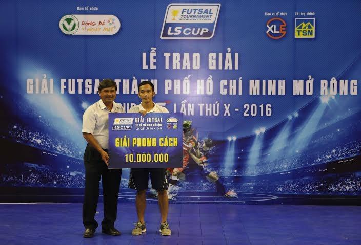 Thái Sơn Bắc vô địch giải futsal TP.HCM mở rộng - ảnh 4