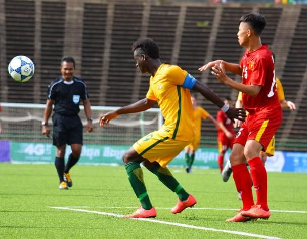 U-16 Việt Nam vào bán kết giải U-16 Đông Nam Á  - ảnh 1