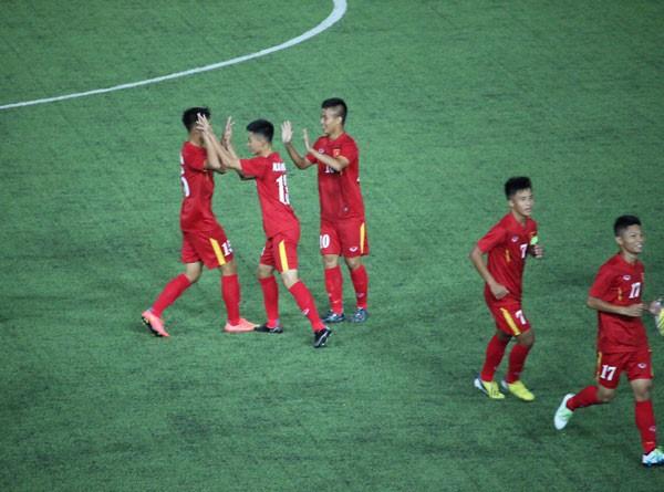 Giải U-16 Đông Nam Á: Việt Nam tái đấu Úc ở chung kết  - ảnh 1