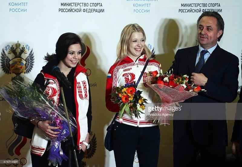 Bộ trưởng Thể thao Nga V.Mutko vui mừng vì Nga được tham dự Olympic Rio