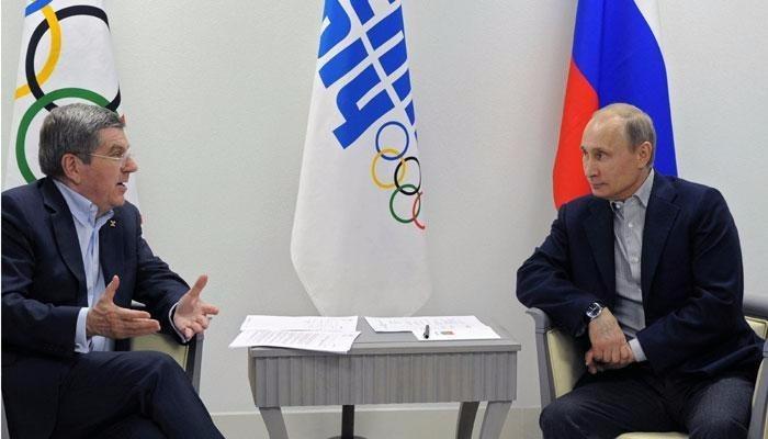 Tổng thống V. Putin đã có những cuộc gặp với quan quan chức IOC