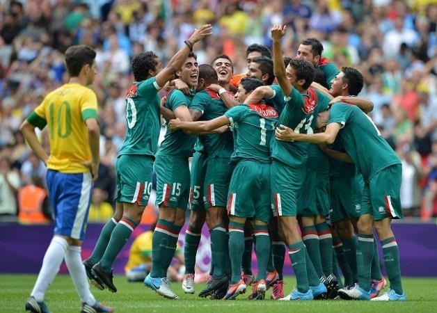 Olympic Mexico là đương kim vô địch khi đánh bại Brazil tại Olympic London