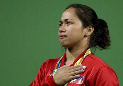 VĐV nữ mang về huy chương Olympic đầu tiên cho Philippines - ảnh 1