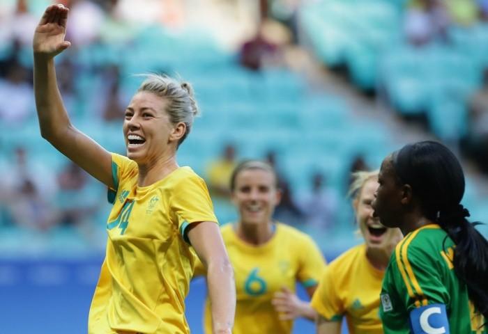 Bóng đá nữ Olympic: Hai 'bà lớn' châu Á đều vào tứ kết - ảnh 2