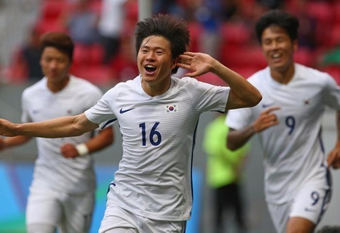 Olympic Hàn Quốc xuất sắc đánh bại đương kim vô địch Mexico