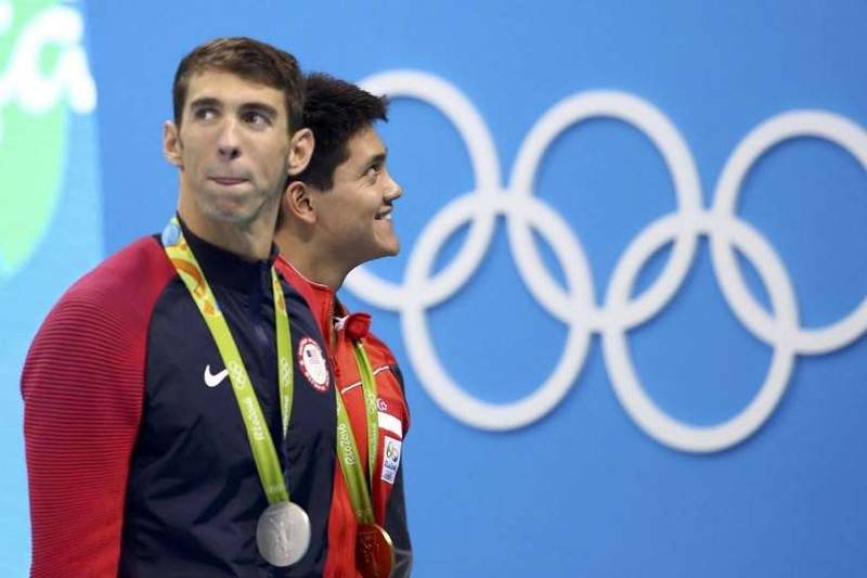 Michael Phelps nói gì khi bị Schooling đánh bại - ảnh 3