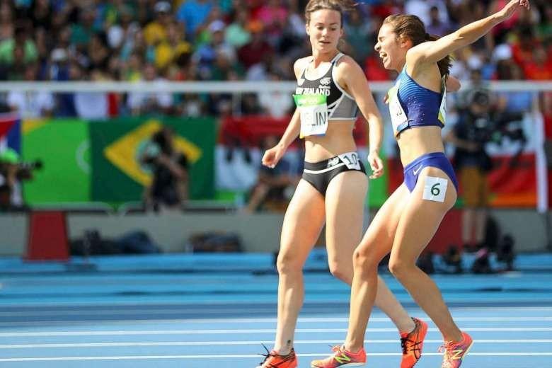 Một hình ảnh đáng trân trọng đầy tinh thần fair play tại Olympic - ảnh 2