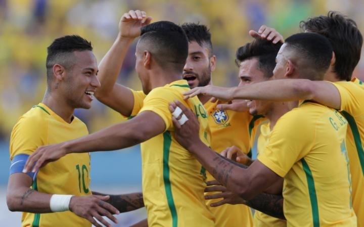 Bóng đá nam Olympic: Brazil gặp Đức ở chung kết - ảnh 1