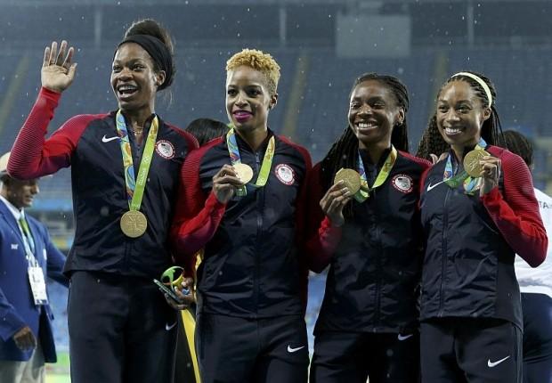 Điền kinh Olympic kết thúc với cú đúp HCV của đoàn Mỹ - ảnh 1