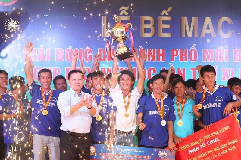 Bế mạc giải bóng đá phong trào quy mô nhất-Cúp Becamex IDC 2016 - ảnh 1