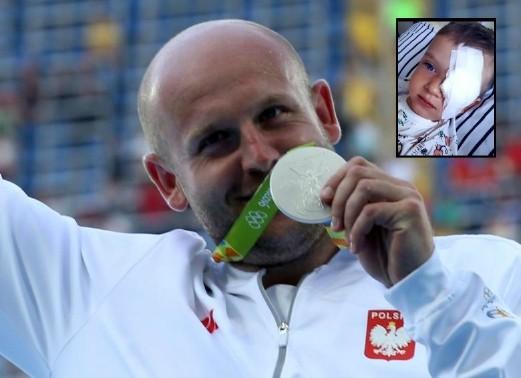 Nghĩa cử cao đẹp của á quân Olympic - ảnh 1