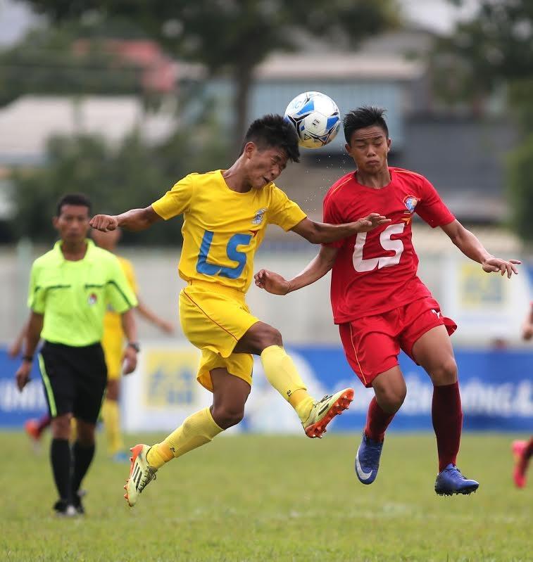 VCK U15 Quốc gia cúp Thái Sơn Bắc 2016: SL Nghệ An bị loại đau - ảnh 1