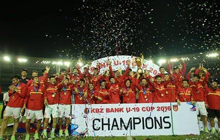 U-19 Việt Nam vô địch giải quốc tế KBZ Bank - ảnh 4