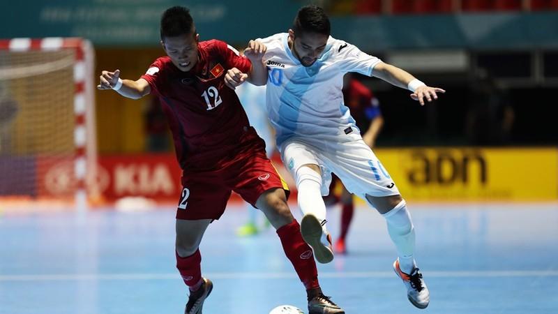 World Cup Futsal: Việt Nam  thắng tưng bừng Guatemala 4-2 - ảnh 1