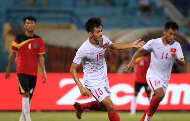 Giải U-19 Đông Nam Á: Việt Nam lên ngôi nhất bảng - ảnh 1