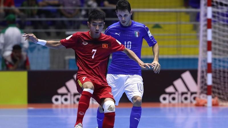 Futsal World Cup: Việt Nam vào vòng 16 đội - ảnh 1