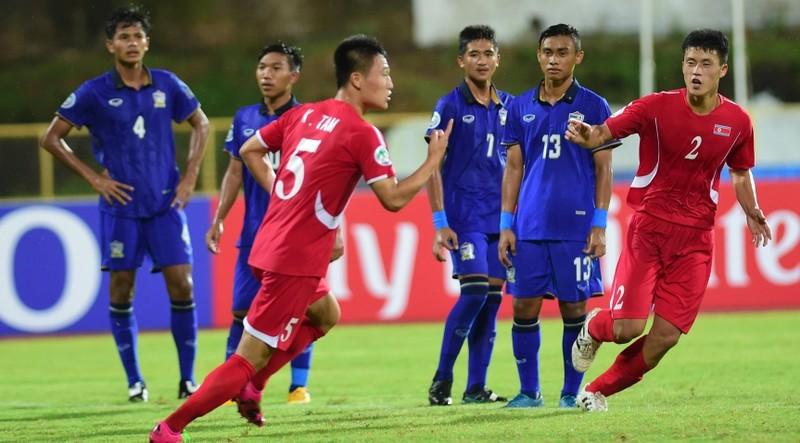 Vòng chung kết U-16 châu Á: Thái Lan… rụng - ảnh 1