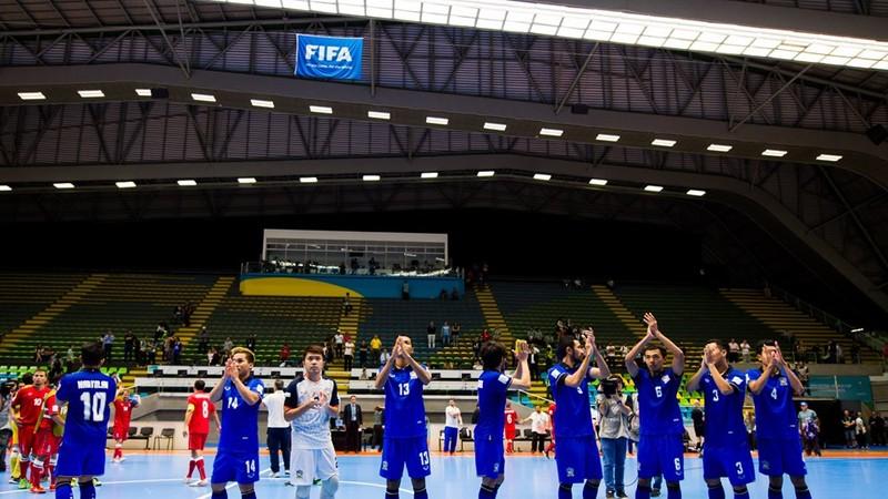 Futsal World Cup: Thái Lan nói lời chia tay - ảnh 1