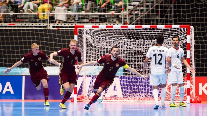 Futsal World Cup: Nga vào chung kết - ảnh 5