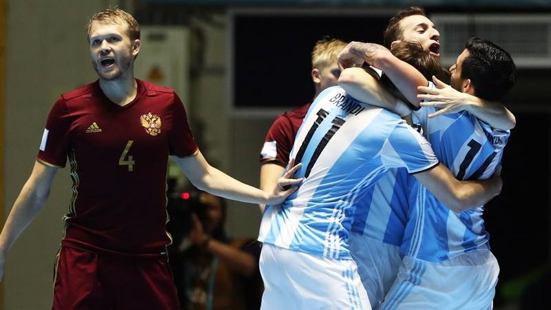 Argentina vô địch Futsal World Cup - ảnh 1