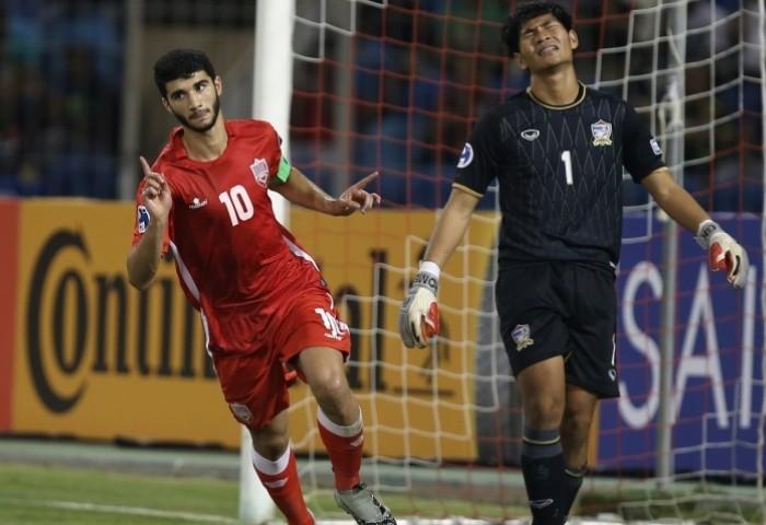 U-19 Bahrain có trận thắng...hú hồn trước Thái Lan 3-2