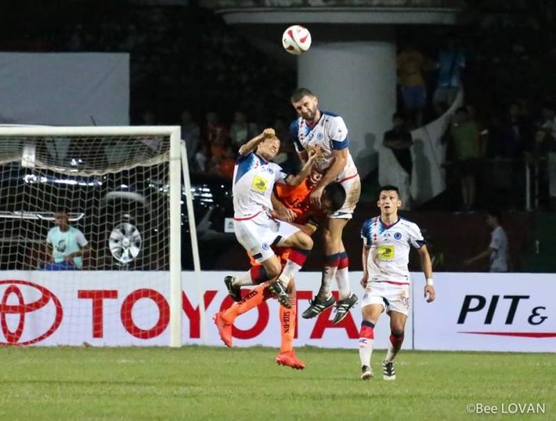 SHB Đà Nẵng thua sốc nhà vô địch Lào - ảnh 1