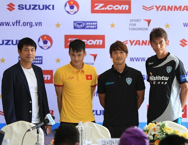 Trận Việt Nam- Avispa Fukuoka sẽ là trận cầu cống hiến - ảnh 1