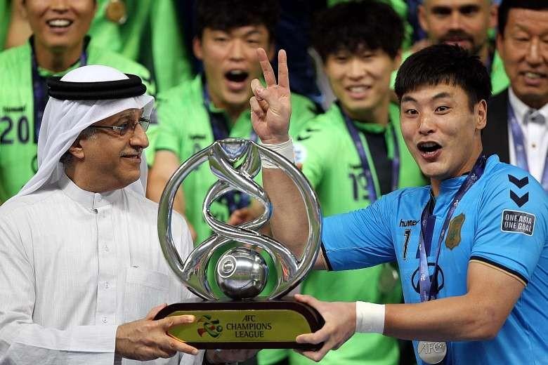 Hyundai Jeonbuk bị loại khỏi Champions League 2017 - ảnh 1