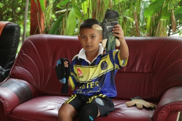 Thái Lan đau đầu với 'thần đồng' bóng đá Nong Pee - ảnh 3