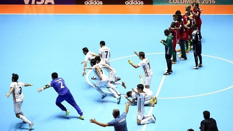 Futsal Iran cũng làm trùm châu Á và hạng ba thế giới