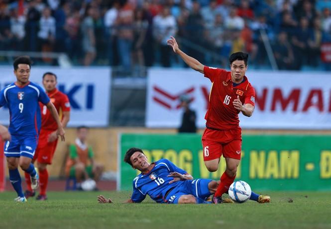 Bỏ lỡ cả tá cơ hội, Việt Nam suýt thua Đài Loan - ảnh 1