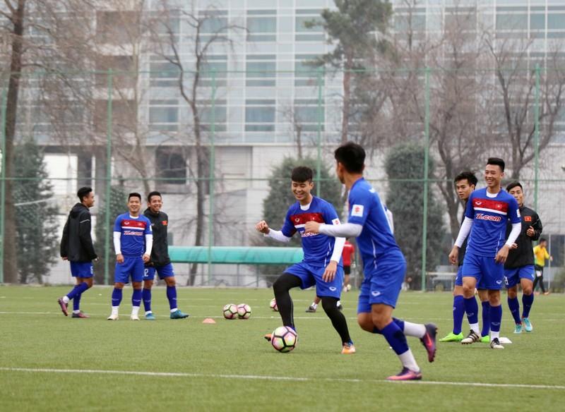 Đội tuyển Việt Nam tại Dushanbe: Ấm cúng như ở nhà - ảnh 1