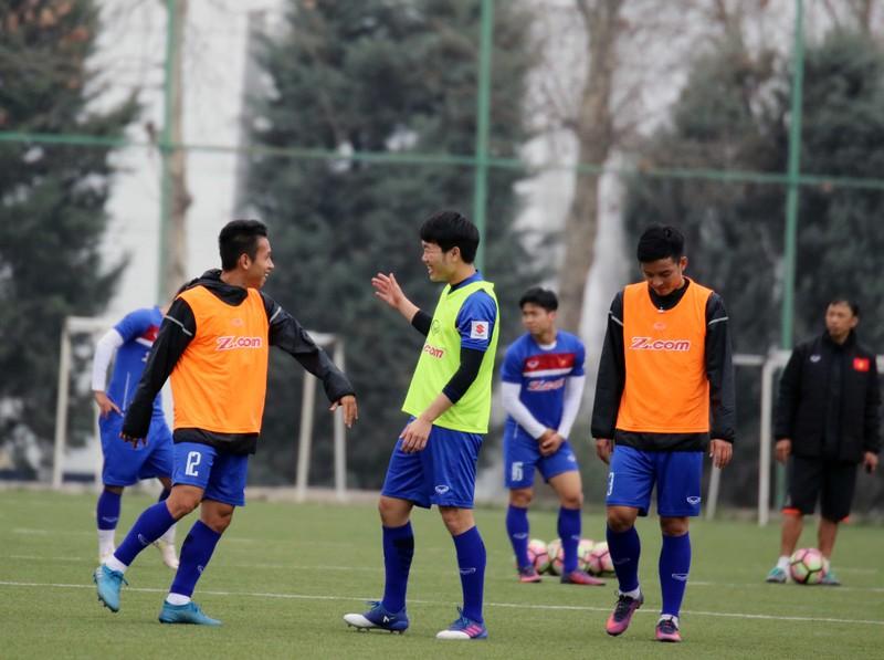 Đội tuyển Việt Nam tại Dushanbe: Ấm cúng như ở nhà - ảnh 7