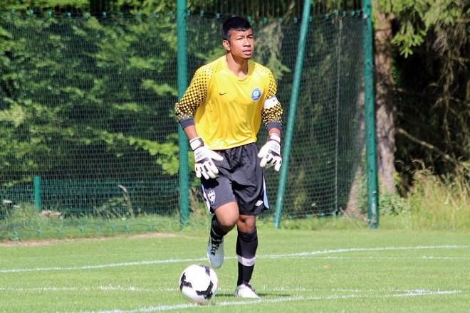 U-22 Thái Lan cầu viện thủ môn Pháp - ảnh 1