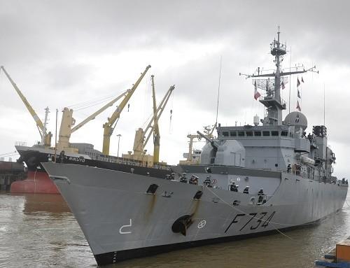 Tuần dương hạm Hải quân Pháp cập cảng Tiên Sa - ảnh 2
