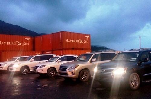 Sung công quỹ dàn 'siêu xe' Lexus nhập lậu - ảnh 1