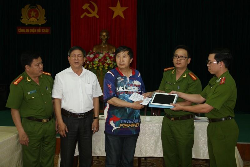 Đà Nẵng: Bắt nhóm trộm tài sản du khách Trung Quốc - ảnh 1