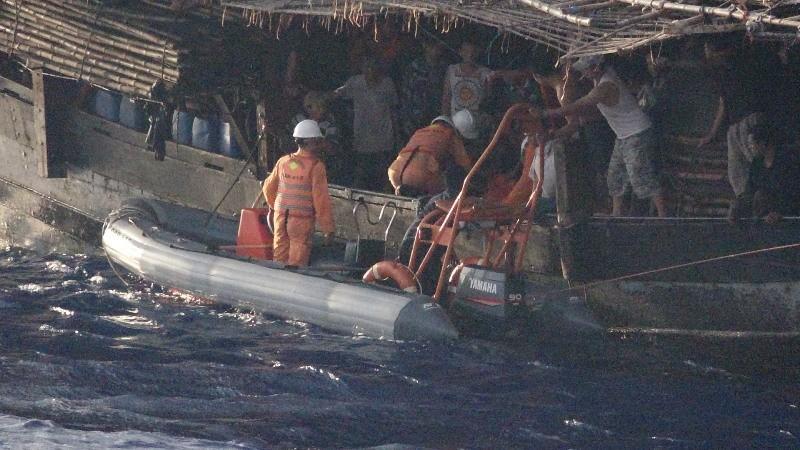 34 ngư dân bị tàu lạ đâm chìm trên biển Hoàng Sa sắp vào bờ - ảnh 1