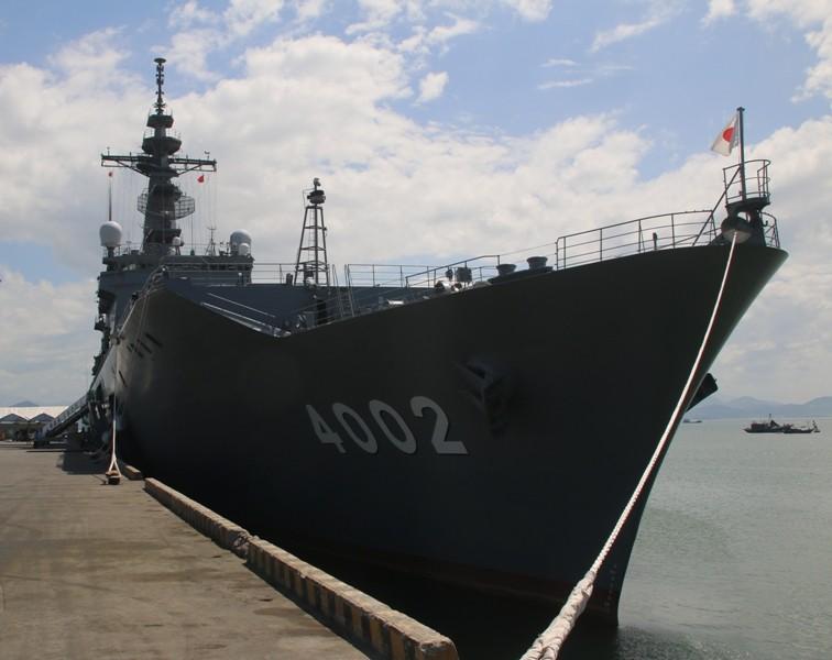 Tàu Hải quân Nhật Bản cập cảng Tiên Sa (Đà Nẵng)