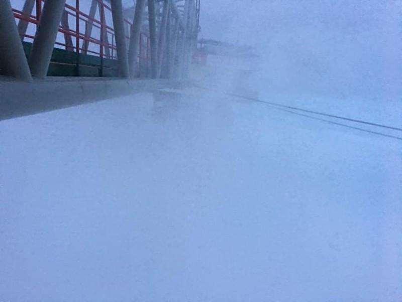 Chùm ảnh: Nhà giàn DK1 hiên ngang trước bão Tembin - ảnh 6