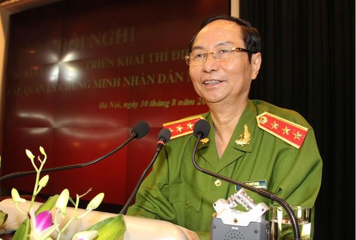 Tướng Phạm Quý Ngọ từ trần vì ung thư gan - ảnh 1