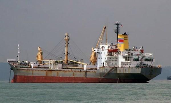 Triều Tiên 'tố' Mexico bắt giữ trái phép tàu hàng - ảnh 1