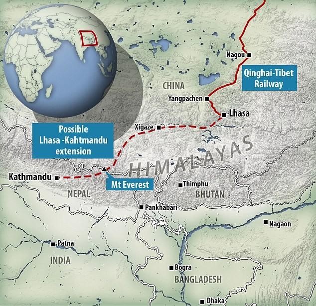 Trung Quốc xây đường hầm xuyên 'nóc nhà thế giới' - ảnh 1
