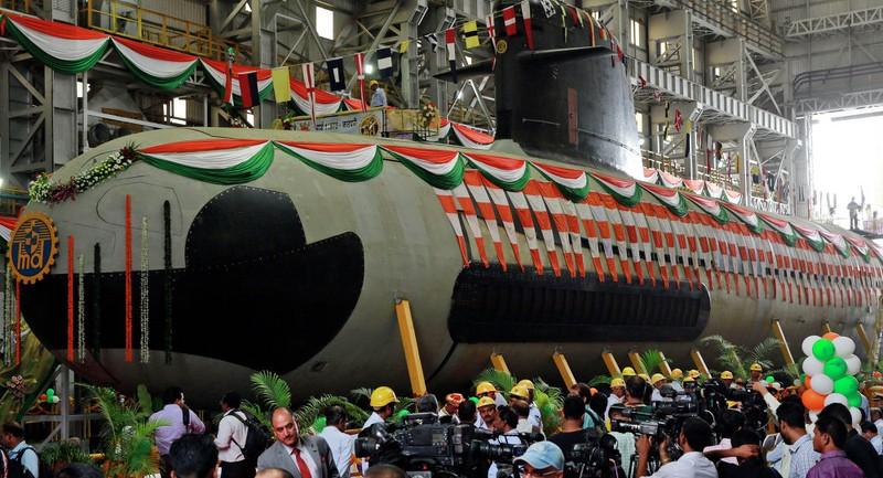 Ấn Độ ra mắt tàu ngầm 'tàng hình' - ảnh 1
