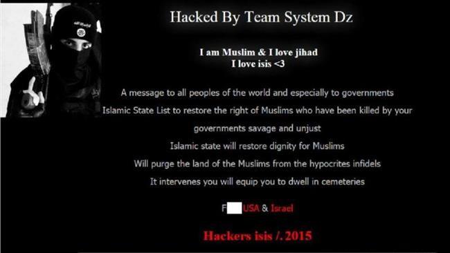 Trang chủ sân bay Úc bị tin tặc IS tấn công - ảnh 1