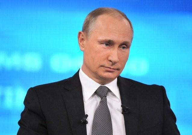 Tổng thống Putin 'đấu trí' với hàng chục câu hỏi hóc búa - ảnh 1
