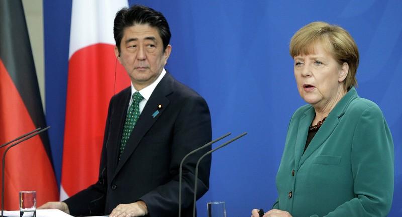 Thủ tướng Đức 'hối' Nhật Bản vào AIIB - ảnh 1