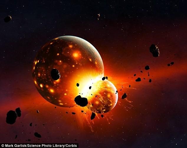 Trái Đất từng 'ăn tươi' một hành tinh khác? - ảnh 1