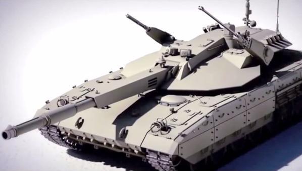 Hé lộ hỏa lực kinh khủng của siêu tăng Armata T-14 - ảnh 1
