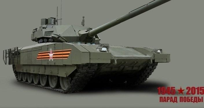 Nga công khai ảnh thiết kế 'siêu tăng' Armata  - ảnh 1